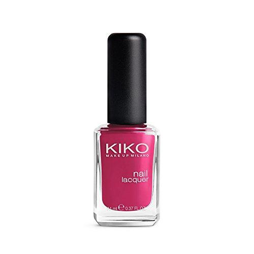 Kiko Make Up Milano Nail lacquer Nagellack Nr. 284 Dark Peony Pink Inhalt: 11ml Nail Polish Nagellack.