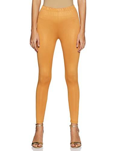 global desi Women's Slim fit Leggings (CO15LEGSHMCOPPERXXL, Copper, 2XL)