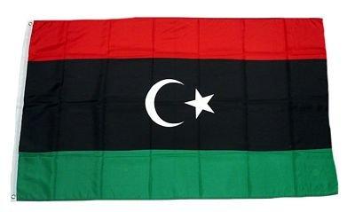Fahne / Flagge Libyen NEU 90 x 150 cm