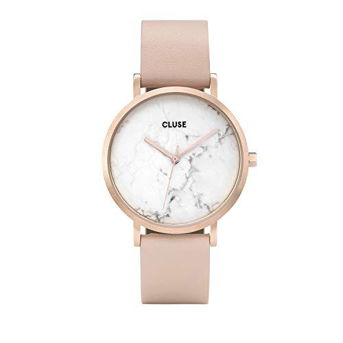 CLUSE Reloj Analógico para Mujer de Cuarzo con Correa en Cuero CL40009