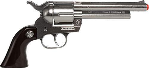Gonher 121/0 - Revolver Cowboy 12-Schuss, stahlfarbend