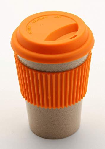Olpro Husk Tasse de Voyage Matériaux écologiques Orange