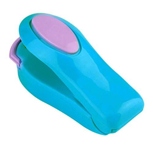 VCB Outil portatif de Joint de scelleur de Sac en Plastique de Machine de thermoscellage portatif Mini d'ABS - Bleu