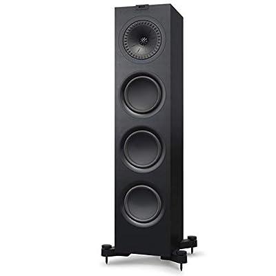 KEF Q750 Floorstanding Speaker, Satin Black (Pair) by KEF