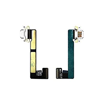 ePartSolution_ USB Charger Charging Port Dock Connector Flex Cable for iPad Mini 2 | iPad Mini 3 A1489 A1490 A1491 A1599 A1600 Replacement Part USA  White
