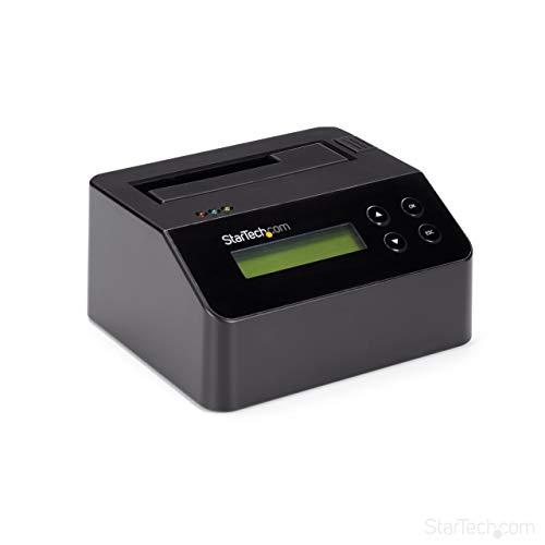 StarTech.com Festplatten Eraser, für 2,5 Zoll / 3,5 Zoll SATA SSD Laufwerk, USB 3.0, 4Kn Unterstützung, Festplatten Dock