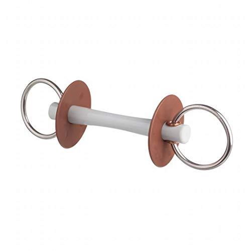 Kavalkade BERIS Wassertrense mit Comfortstange, dünn, Ring 7, 5cm, 130mm, so, 13 cm, 7.5 cm, Soft