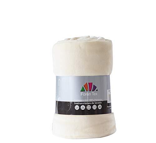 Foren Tex - Manta de sedalina, (XL-3098), Ultra Suave, microseda, para abrigarte con Estilo y Confort, 270 x 230 cm No Suelta Pelo. para sofá y Cama.