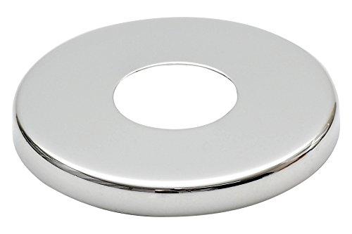 26mm (3/4') Collar Acero Cromado Válvula Alto Agujero Cubrir Grifo 8mm Altura
