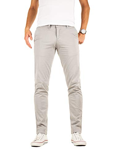 Yazubi Pantalones Chinos Hombre Slim Fit Algodón - Luke