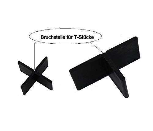 Fugenkreuze in 3mm ,4mm oder 5mm für Terrassenplatten auch Bodenplatten (300, Fugenbreite 3mm Fugenhöhe 10mm)