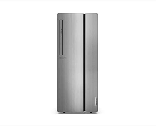 Lenovo IdeaCentre 510 Desktop, Intel Core i5-9400, 512 GB SSD, 8 GB RAM, DVD RW Brenner, Tastatur und USB-Maus, Silber