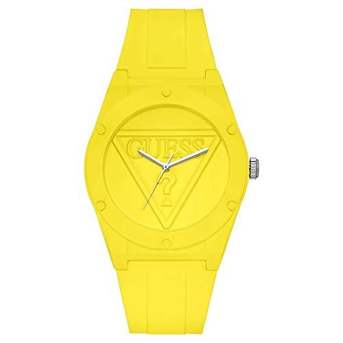 Guess Watches Retro pop Womens Analog Quartz Watch with Silicone Bracelet W0979L4-NA
