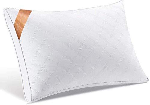 【AYO新世代】枕高級ホテル仕様高反発枕横向き対応丸洗い可能立体構造43x63cm家族のプレゼントホワイト(63*43*22cm)