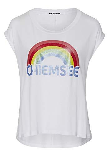 Chiemsee Damen T-Shirt, Bright White, M
