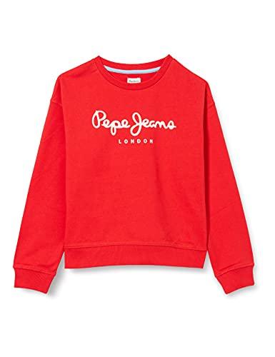 Pepe Jeans Rose Suéter, 244mars Red, 18 para Niñas
