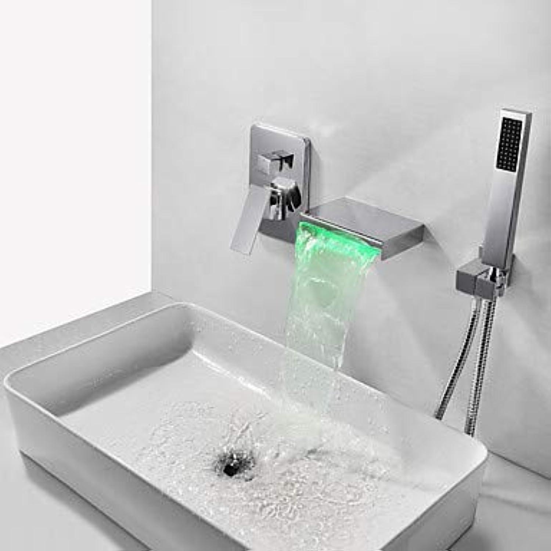 Badewannenarmaturen - Moderne Chrom Wandmontage Messingventil