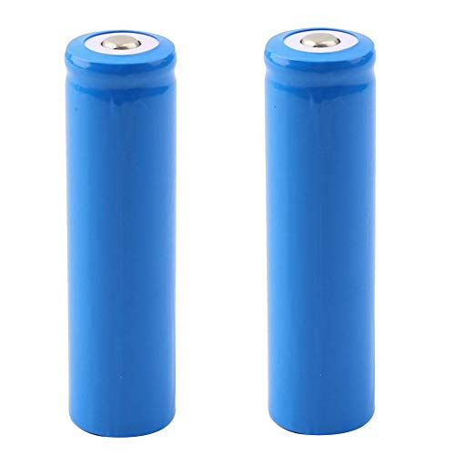 18650 Battery Li-ion Rechargeable Batteries 5000mAh 3.7V High Capacity Button Top Recharging...