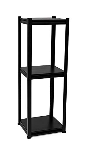 Best Buy! Maze Three Tier Shelving Worm Farm, Black