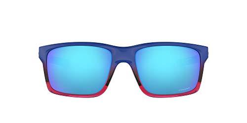 Oakley Herren Mainlink 926432 Sonnenbrille, Blau (Bluette Pop Fade/Prizmsapphire), 57