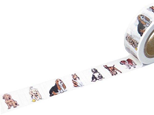 susiebsupplies schattig hond thema washi maskeren papier tape