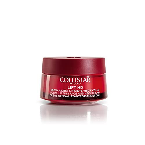 Collistar Lift HD Crema Giorno per Viso e Collo, Azione Intensiva antirughe con effetto lifting immediato, Tecnologia brevettata per una maggiore elasticità della pelle, Per pelli mature, 50 ml