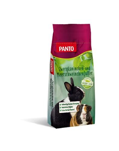 Panto Zwergkaninchenfutter mit Wisan-Lein, 1er Pack (1 x 25 kg)
