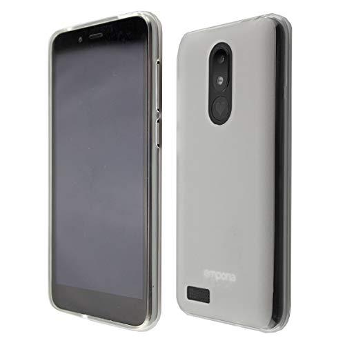 caseroxx TPU-Hülle für Emporia Smart 3 Mini, Handy Hülle Tasche (TPU-Hülle in weiß-transparent)