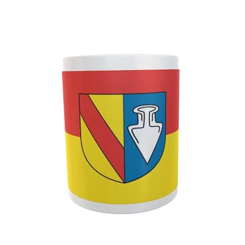 U24 Tasse Kaffeebecher Mug Cup Flagge Denzlingen