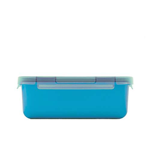 Valira Porta alimentos - Contenedor hermético de 0,75 L hecho en España, color azul