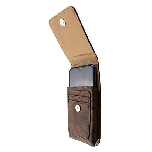 caseroxx Handy Tasche Outdoor Tasche für Beafon M6, mit drehbarem Gürtelclip in braun