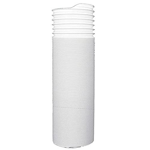 JINGLING Tubo di ricambio per condizionatore d'aria portatile, 15 cm/13 cm, filettatura in senso antiorario e lunghezza fino a 1,5 m, prolunga per tubo di scarico