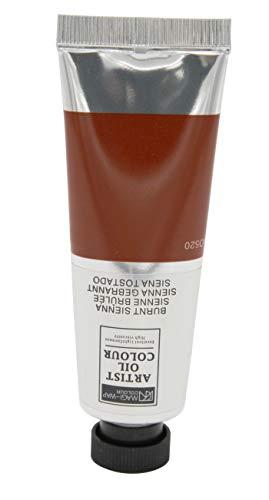 Magi Ölfarbe, 50 ml Tube feine Künstlerqualität, hochwertige Farben zum Malen (24 Sienna gebrannt)