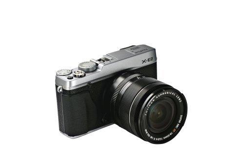 """Fujifilm X-E2 - Cámara Evil de 16.3 MP (Pantalla 3"""", estabilizador, grabación de vídeo), Color Plateado - Kit con Objetivo 18-55 EE TD"""