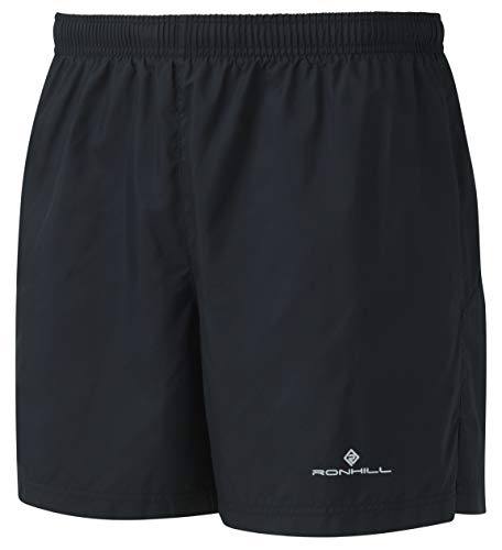Ronhill Core - Pantaloncini Corti da Uomo, 12,7 cm, Uomo, Pantaloncini, RH-005226, Tutto Nero, XL