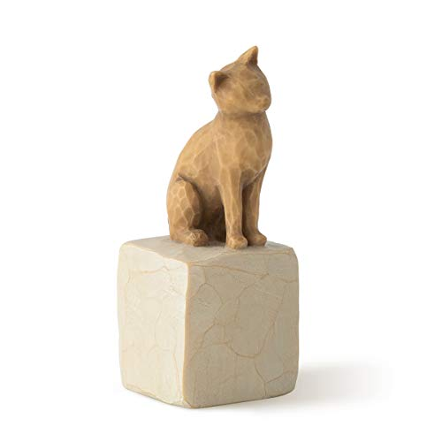 Willow Tree Love My Cat (Light), Sculpted Hand-Painted Figure