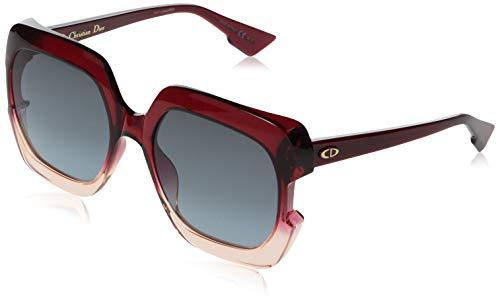 Dior DIORGAIA I7 0T5 Gafas de sol, Rojo (Burgundy Pink/Grey Grey), 58 para Mujer