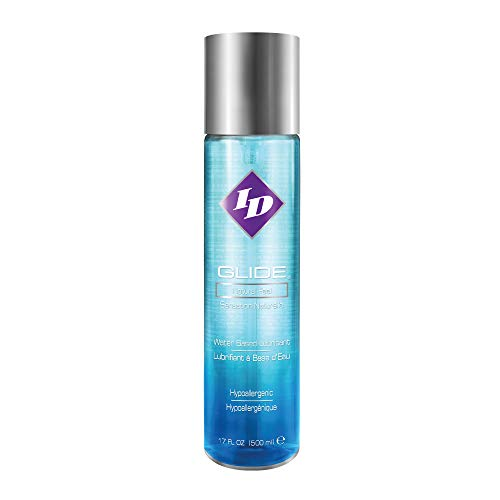 ID Glide 17 Fl Oz Natural Feel Water-Based Personal Lubricant
