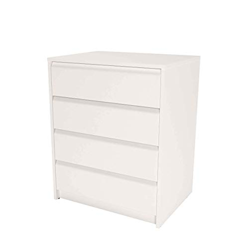 Samblo Kai Schublade, Holz, Weiß, 45x60x73 cm