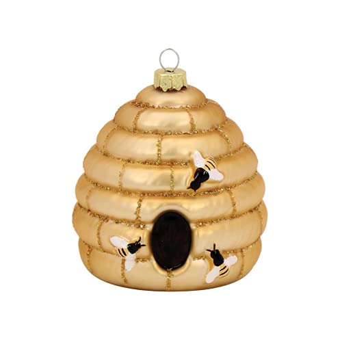 Bee  Glass Ornament Holiday Decor
