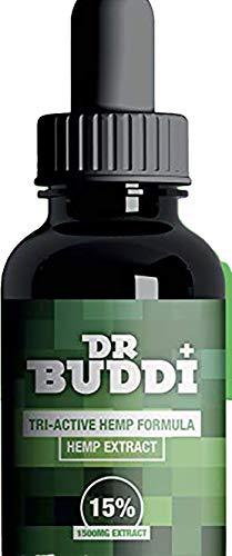 Dr Buddi High Strength Hemp Extract   15% (1500mg)   EUROPEAN IMPORT   Anti-inflammatory   10ml   Can help Reduce Stress, Anxiety and Pain   Vegan & Vegetarian Friendly   Highest European GMP
