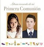 Álbum recuerdo de mi Primera Comunión: Modelo A. Con marco de fotos (primeras comuniones)