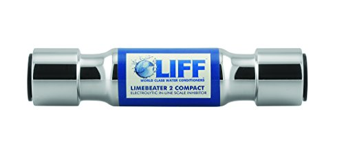 BWT LBP2–22Lima redonda ajuste a presión electrolíticos inhibidor de escala, acabado cromado