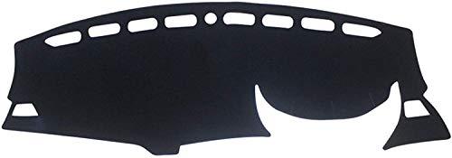 Gemmry Cubierta del Tablero de Instrumentos para Peugeot 3008 5008 GT 2017~2020, Car Consola Central Instrumentos Mat Antideslizante Sol Alfombra Interior Protección Accesorios