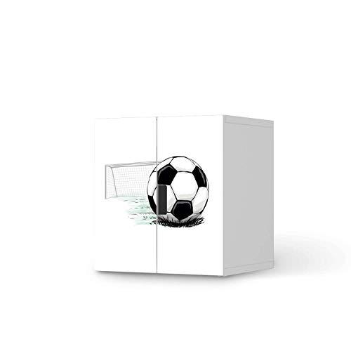 creatisto Möbel Klebefolie für Kinder - passend für IKEA Stuva Schrank - 2 kleine Türen I Tolle Möbelfolie für Kinder-Möbel Deko I Design: Freistoss