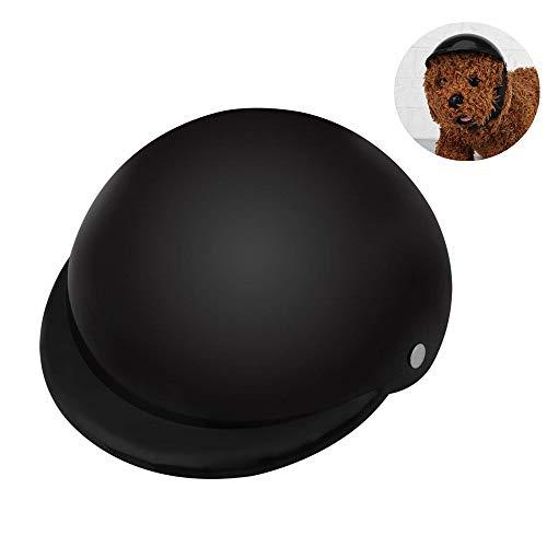 Fdit Pet Dog Helmet Cap Hat ABS Plastic Motorcycle Helmet