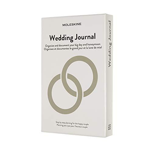 Moleskine Hochzeitstagebuch, Themen Notizbuch (Hardcover-Notizbuch zur Planung und Organisation Ihrer Hochzeit, 13 x 21 cm, 400 Seiten)