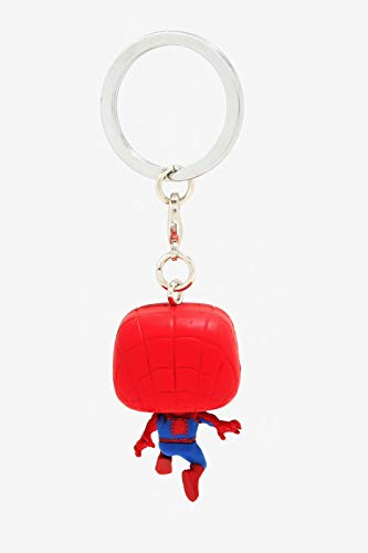 Product Image 3: Funko Pop Keychain: Animated Spider-Man Movie – Spider-Man Collectible Figure, Multicolor