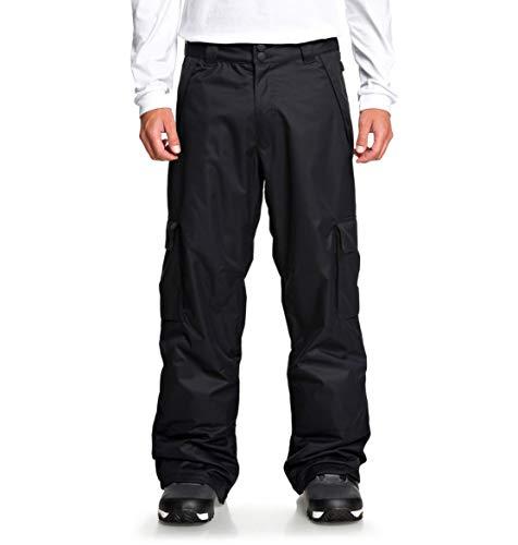 DC Shoes Banshee-Pantalones para Nieve para Hombre, Black, L