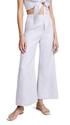 Faithfull The Brand Women's Scelsi Pants, Plain Lavender, Purple, Medium